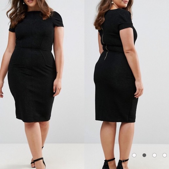 🌷HP🌷ASOS Curve Closet London Plus Pencil Dress